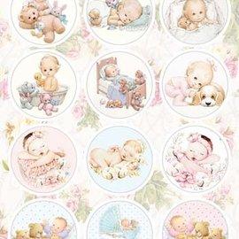 præ-cut billeder: babyer