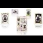BASTELSETS / CRAFT KITS Victoriaanse papier knipsels paspoort kaart