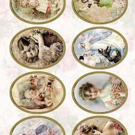Bilder, 3D Bilder und ausgestanzte Teile usw... Skåret victoriansk, 240 gr