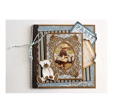 Joy!Crafts / Jeanine´s Art, Hobby Solutions Dies /  Modelli di taglio, per punzonare con una punzonatrice: cornice decorativa