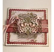 Joy!Crafts / Jeanine´s Art, Hobby Solutions Dies /  Snijmallen, Sjablonen  voor ponsen met een stansmachine: sierlijst - Copy