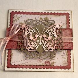 Joy!Crafts / Jeanine´s Art, Hobby Solutions Dies /  Stansning skabelon, Stansemal, til stansning med stansemaskine: dekorativ ramme - Copy