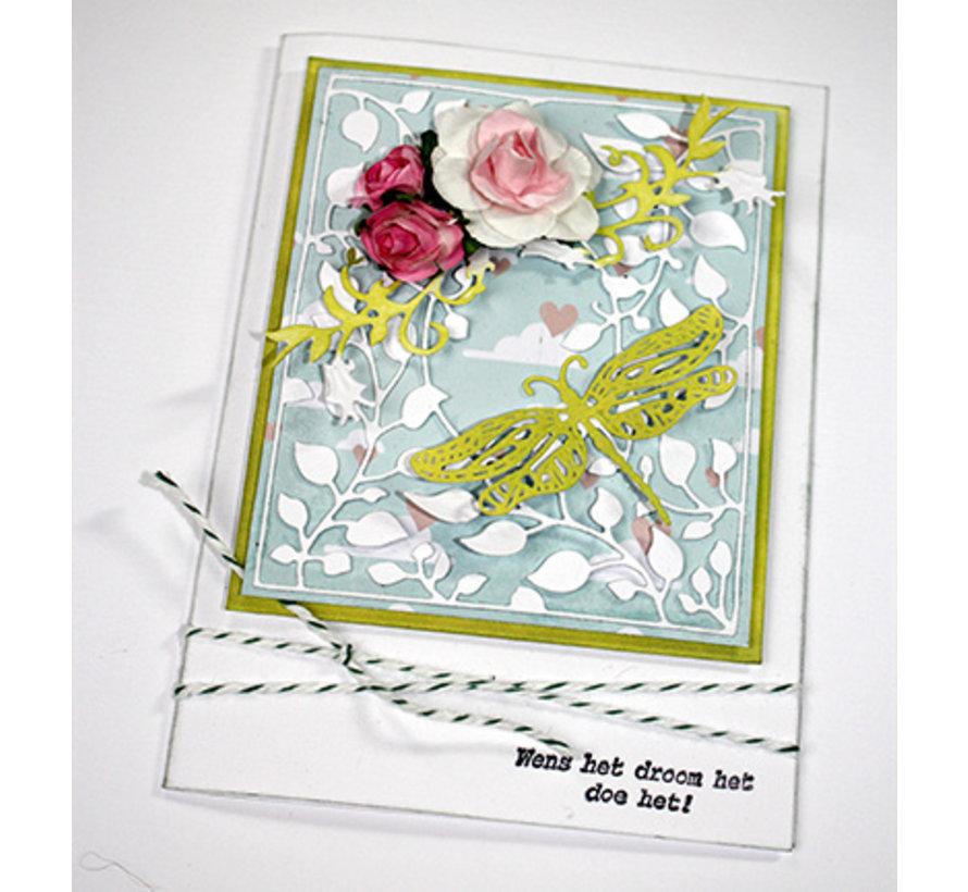 Gebruik deze snijsjablonen met verschillende papieren, stoffen en materialen om verbluffende effecten te creëren voor uw kaarten, decoraties en scrapbook pagina's  - Copy - Copy