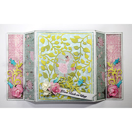 Joy!Crafts / Jeanine´s Art, Hobby Solutions Dies /  Stansning skabelon, Stansemal, til stansning med stansemaskine: dekorativ ramme - Copy - Copy