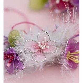 BASTELZUBEHÖR, WERKZEUG UND AUFBEWAHRUNG voor het ontwerpen van bloemen, vleugels en andere decoraties