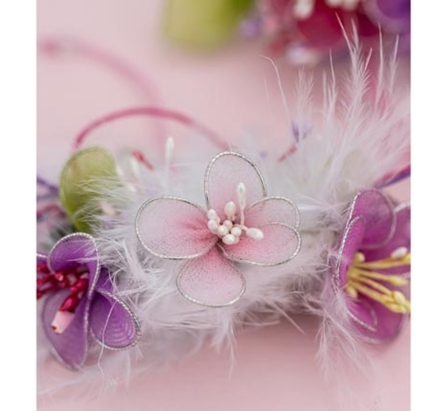 for the design of flowers, wings and other decorations