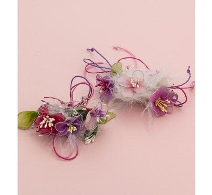 pour la conception de fleurs, ailes et autres décorations
