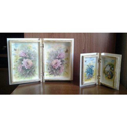 DECOUPAGE, ACCESSORIES and OBJECTS TO DECORATE