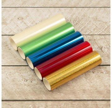 BASTELZUBEHÖR, WERKZEUG UND AUFBEWAHRUNG Foil Me Heat Activated Foil Pack, 5 pieces