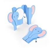 sizzix Modelli di taglio, per punzonare con una punzonatrice: Card Elephant Fold