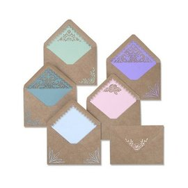 Plantillas de corte,  para punzonar con una punzonadora y creativa : Envelope Liners  Intricate 663586
