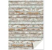 REDDY Cartoncino effetto legno, assi di legno