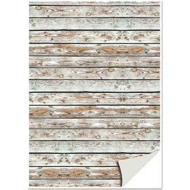 REDDY Cardboard houtlook, houten planken