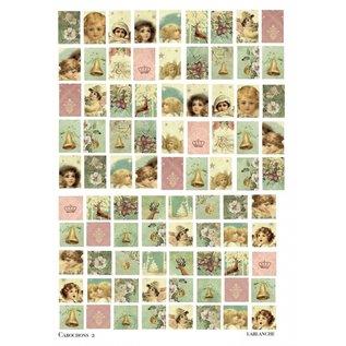 Embellishments / Verzierungen 21 x 29,7 cm (A4) with 95 different motives, 150 gr