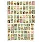 Embellishments / Verzierungen 21 x 29,7 cm (A4) met 95 verschillende motieven, 150 gr