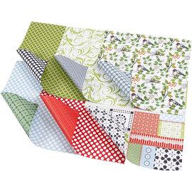 Karten und Scrapbooking Papier, Papier blöcke Cards and scrapbook paper, size 30,5x30,5 cm, 120 g