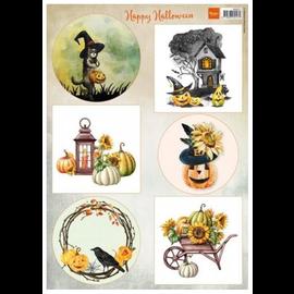 Hoja de corte feliz halloween