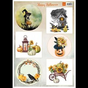 Feuille de découpe Happy Halloween