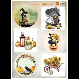 Foglio di taglio Happy Halloween