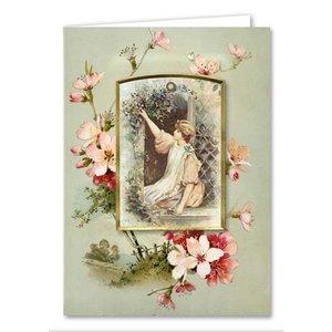 BASTELSETS / CRAFT KITS Card set, Victorian greeting cards, complete for 8 cards!