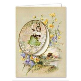 BASTELSETS / CRAFT KITS Kaartenset, Victoriaanse wenskaarten, compleet voor 8 kaarten!