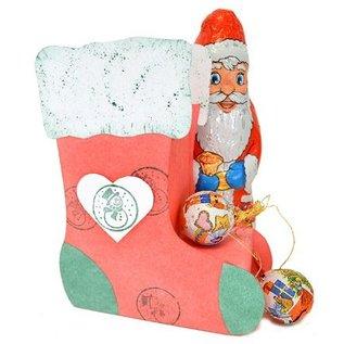 VIVA DEKOR (MY PAPERWORLD) Design 3D Christmas socks for Christmas!