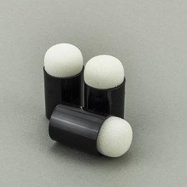 FARBE / STEMPELKISSEN Accesorios para sellos: puntas de esponja para dedos, 3 piezas