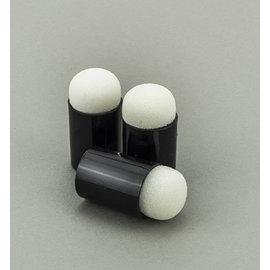 FARBE / STEMPELKISSEN Accessori per timbri: daubers in spugna a punta di dito, 3 pezzi