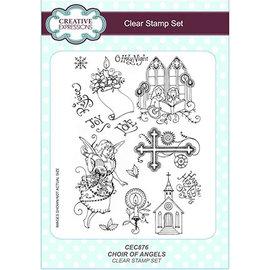 Stempel / Stamp: Transparent Stamp, A5, angel