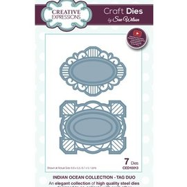 CREATIVE EXPRESSIONS und COUTURE CREATIONS Cutting dies , day duo