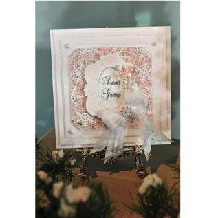 CREATIVE EXPRESSIONS und COUTURE CREATIONS Cutting en embossing Sjabloon: De ster van Kerstmis in frame - slechts één beschikbaar!