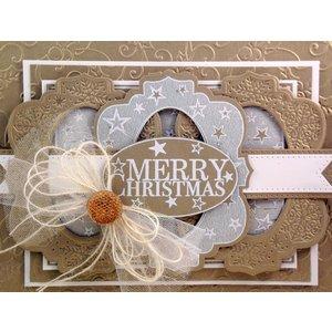 CREATIVE EXPRESSIONS und COUTURE CREATIONS Découpe et gaufrage meurent: étoile de Noël dans le cadre - seulement 1 en stock!