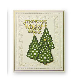 CREATIVE EXPRESSIONS und COUTURE CREATIONS cutting dies, Christmas Tree Triple Layering