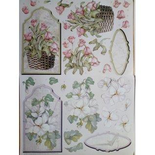 Un set completo di carte, per la progettazione di 4 Aufstellkarten!