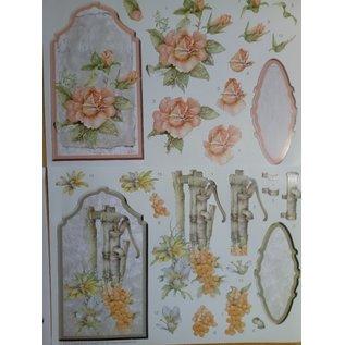 A complete set of cards, for the design of 4 Aufstellkarten!