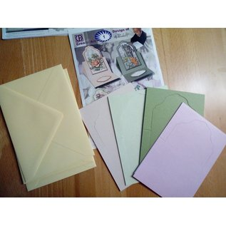 Een complete set kaarten, voor het ontwerp van 4 Aufstellkarten!