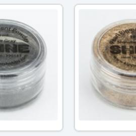 FARBE / MEDIA FLUID / MIXED MEDIA Mica pigmento en polvo, elección en 2 colores, en envases de 10 ml
