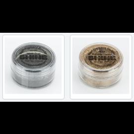 FARBE / MEDIA FLUID / MIXED MEDIA Polvere di pigmento di mica, scelta in 2 colori, in confezione da 10 ml
