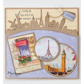 Joy!Crafts / Jeanine´s Art, Hobby Solutions Dies /  Cutting dies , Around the world Border, CR1472 142 x 75.5 mm