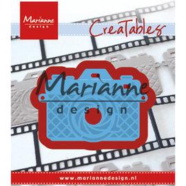 Marianne Design Stansning skabelon, Stansemal, Photo camera, LR0605