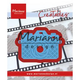 Marianne Design Plantillas de corte, Photo camera, LR0605