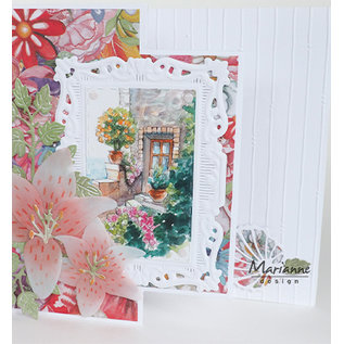 Marianne Design For punching with a punching machine to create stunning effects for your cards, decorations and scrapbook pages.