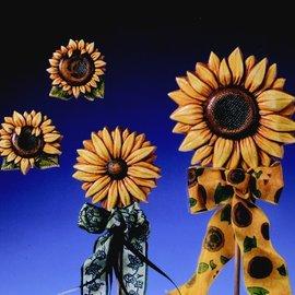GIESSFORM / MOLDS ACCESOIRES Gießform Sonnenblumen 4 Blumen Gr. 6-12,5 cm