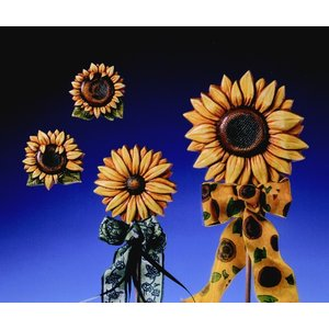 GIESSFORM / MOLDS ACCESOIRES Coulée Tournesols 4 Fleurs Gr. 6-12,5 cm