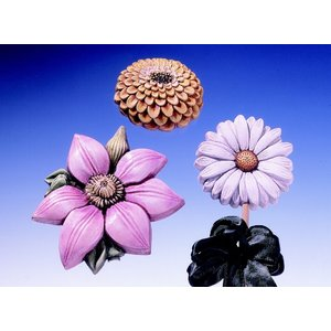 GIESSFORM / MOLDS ACCESOIRES Mold Summer Flowers 3 Flowers Gr. 8-13 cm