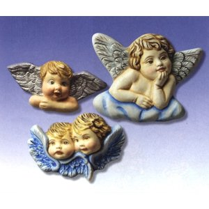 GIESSFORM / MOLDS ACCESOIRES Casting mold angel Gr. 5-10 cm
