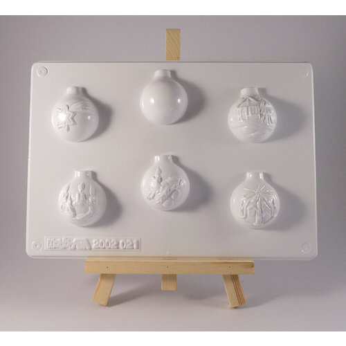 GIESSFORM / MOLDS ACCESOIRES Fabbisogno di materiale circa 300 gr Materiale di fusione o anche da utilizzare per il cioccolato