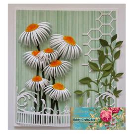 Joy!Crafts / Jeanine´s Art, Hobby Solutions Dies /  découpage et gaufrage modèles: tournesols