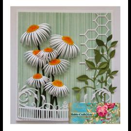 Joy!Crafts / Jeanine´s Art, Hobby Solutions Dies /  plantillas de corte y estampado: girasoles