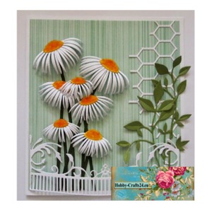 Joy!Crafts / Jeanine´s Art, Hobby Solutions Dies /  cutting and embossing templates: sunflowers